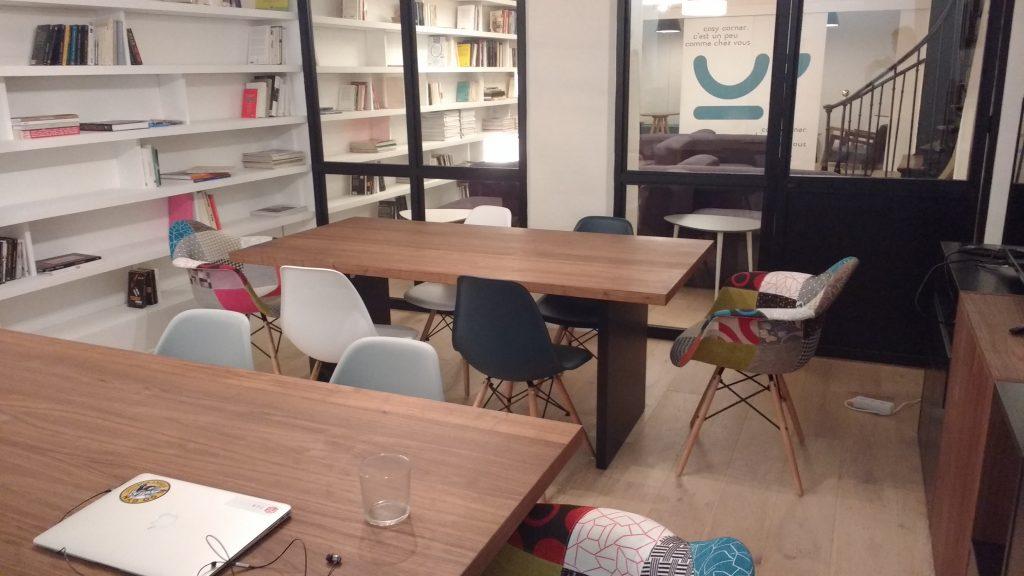 cosy corner cowork parijs