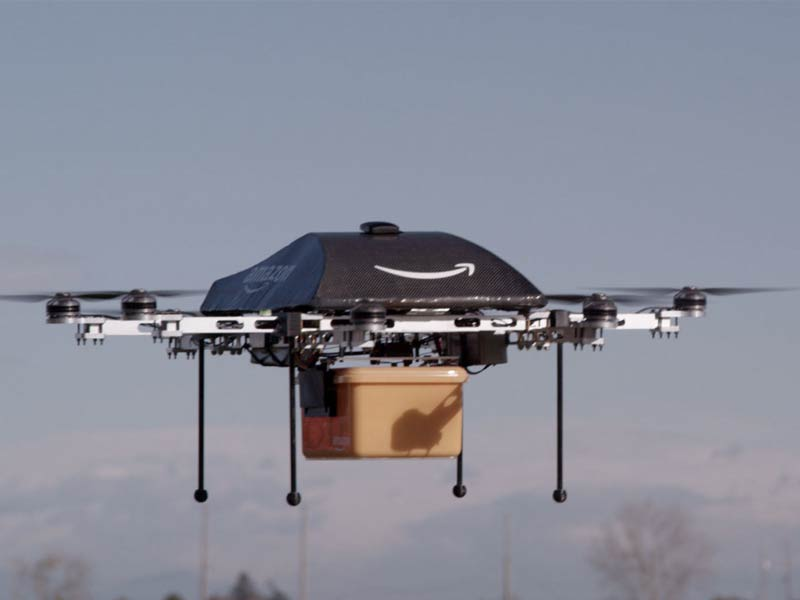 amazon prime air drone bezorging